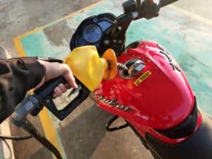motorcycle gasoline