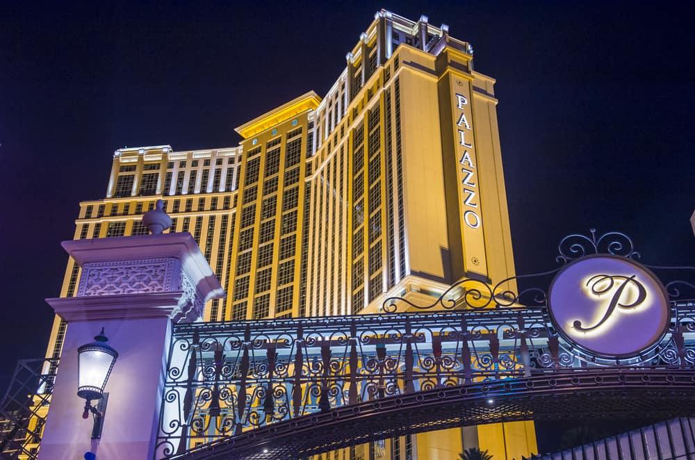 The Palazzo hotel and Casino in Las Vegas