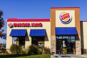 Burger King Retail Fast Food Location