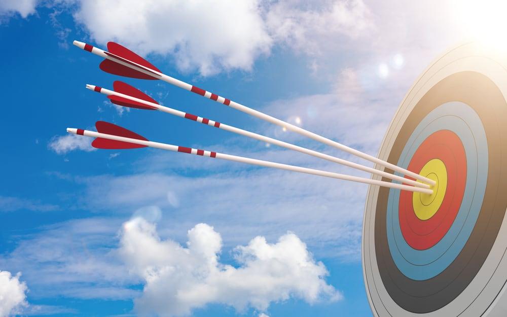 Target Bullseye Blue Sky