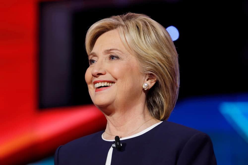 former Secretary of State and U.S. Senator Hillary Clinton